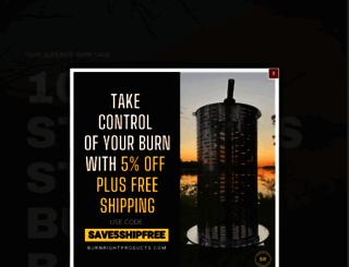burnrightproducts.com screenshot