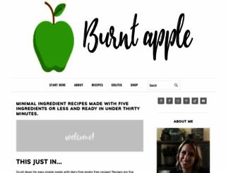 burntapple.com screenshot