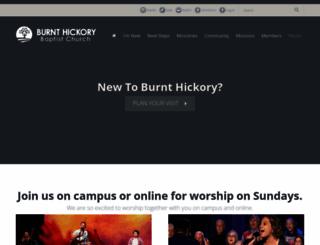 burnthickory.com screenshot
