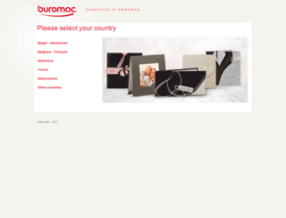 buromac.be screenshot