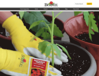 burpeehomegardens.com screenshot