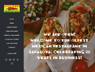 burritosmexicangrill.com screenshot