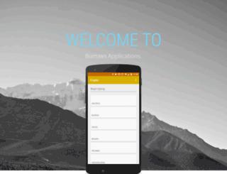 burrowsapps.com screenshot