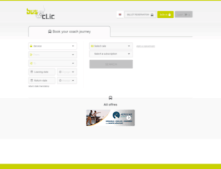 bus-et-clic.com screenshot