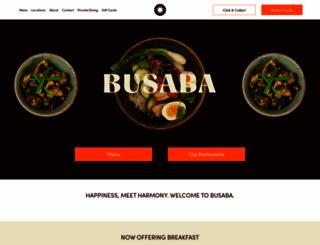 busaba.com screenshot