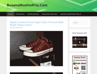 busanamuslimpria.com screenshot
