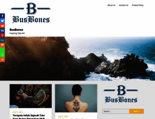 busbones.com screenshot