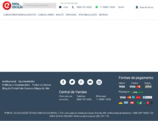 busca.portaleducacao.com.br screenshot