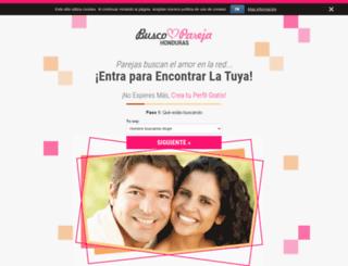 buscoparejahonduras.com screenshot