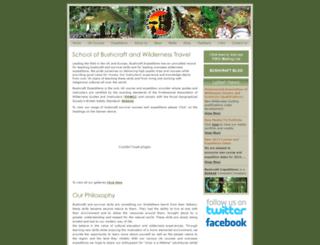 bushcraftexpeditions.com screenshot