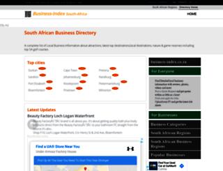 business-index.co.za screenshot