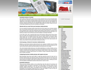 business-mobiles-phones.50webs.com screenshot