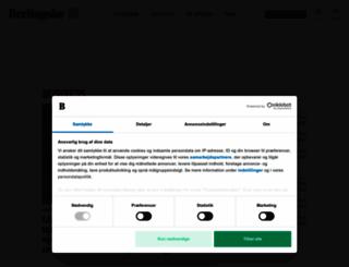 business.dk screenshot