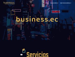 business.ec screenshot
