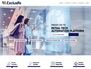 business.exclusife.com screenshot