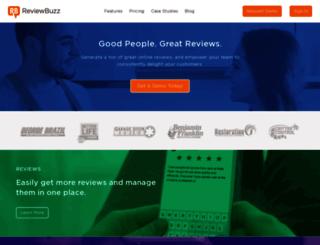 business.reviewbuzz.com screenshot