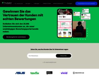 business.trustpilot.de screenshot