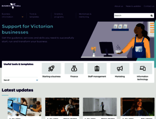 business.vic.gov.au screenshot