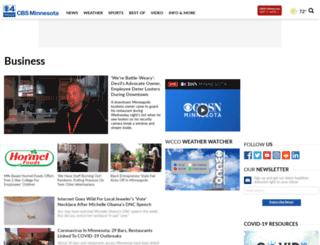 business.wcco.com screenshot