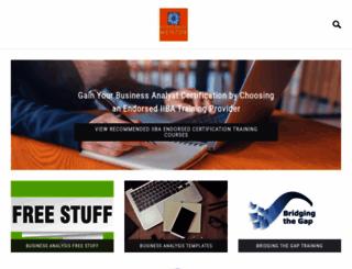 businessanalystmentor.com screenshot