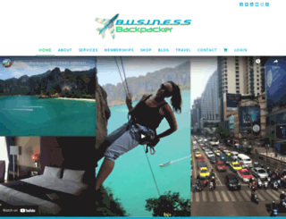 businessbackpacker.com screenshot