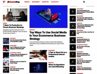 businessblogs.co.nz screenshot