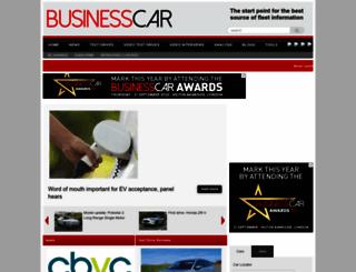 businesscar.co.uk screenshot