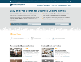 businesscenterindia.in screenshot