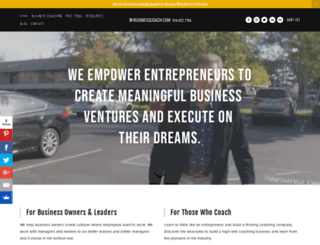 businesscoach.com screenshot