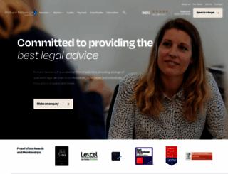 businessdefencesolicitors.co.uk screenshot
