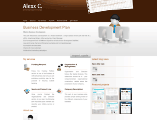 businessdevelopment.ueuo.com screenshot