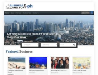 businessdirectory.ph screenshot