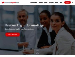 businessenglishpod.com screenshot