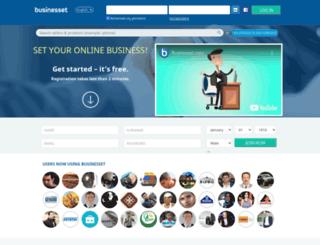 businesset.com screenshot
