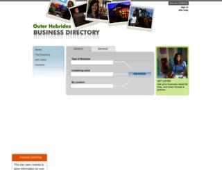 businesshebrides.co.uk screenshot