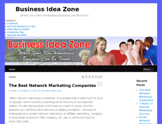 businessideazone.com screenshot