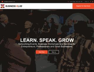 businessklub.com screenshot