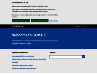 businesslink.gov.uk screenshot