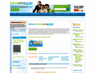 businesslistingnow.com screenshot