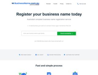 businessname.com.au screenshot