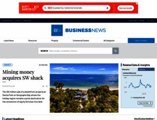 businessnews.com.au screenshot