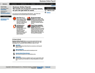 businessonlinepayroll.com screenshot