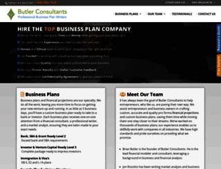 businessplan.financial-projections.com screenshot