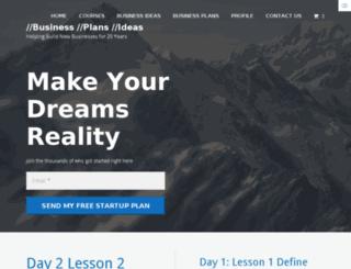 businessplanidea.com screenshot