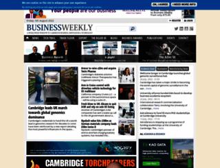 businessweekly.co.uk screenshot