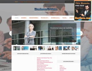 businesswithin.com screenshot