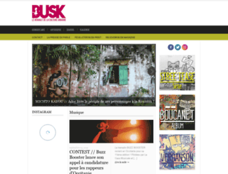 busk-magazine.com screenshot