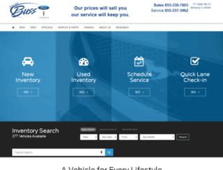 bussford.com screenshot