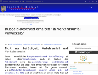 bussgeld-check-fuerdeutsche-in-oesterreich.de screenshot