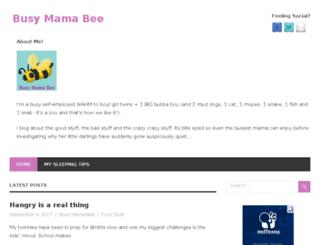 busymamabee.com screenshot